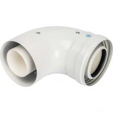 Колено-адаптер 60/100 Stout для котлов Viessmann и Baxi