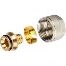 Фитинги компрессионные никелированные для труб PE-Xa STOUT