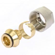 Фитинги компрессионные никелированные для труб PE-Xa TIM